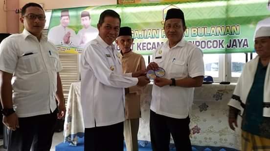 Manfaatkan Pengajian Bulanan Kecamatan Cipocok Jaya, Walikota Serang Syafrudin Evaluasi Kinerja Lurah