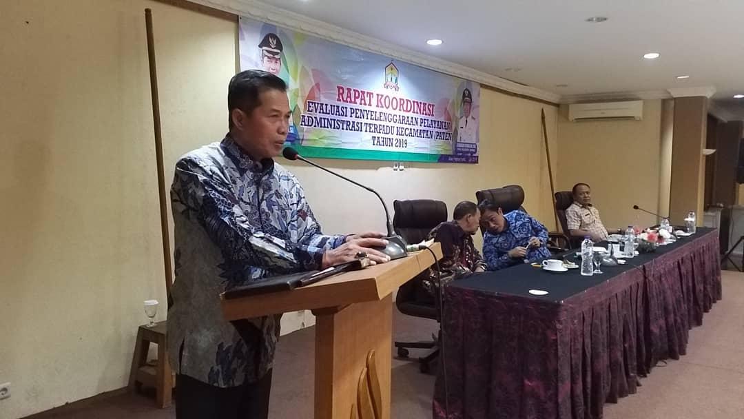 Rapat Koordinasi PATEN Tingkat Kecamatan Kota Serang